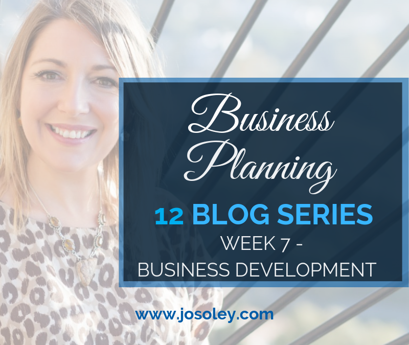 Business Planning Week 7 – Business Development
