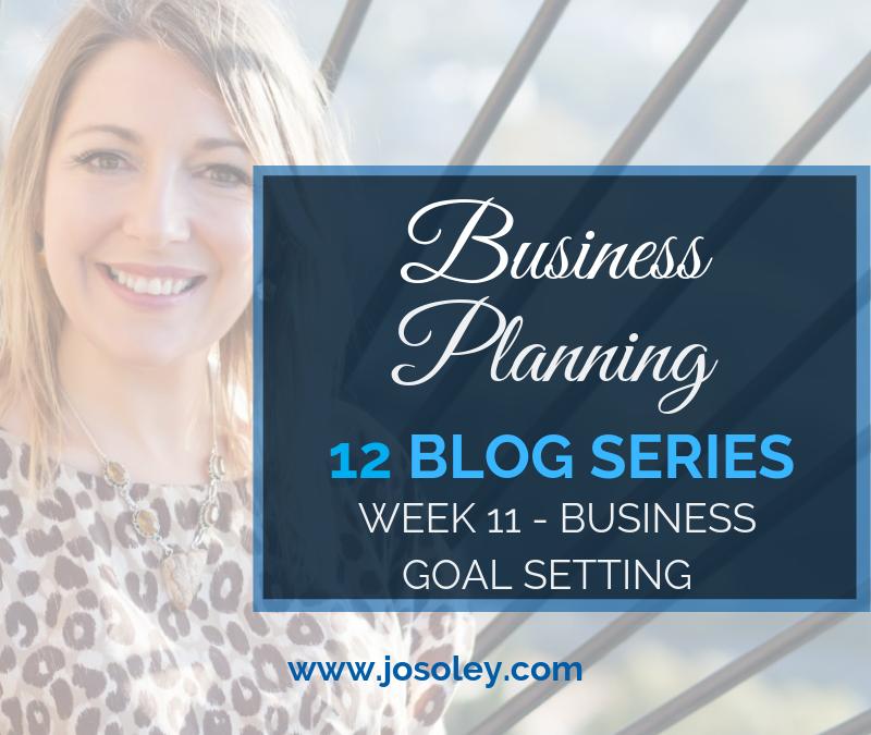 Business Planning Week 11 – Business Goal Setting