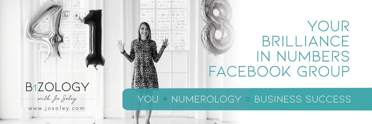 Numerology In Business - Bizology with Jo Soley