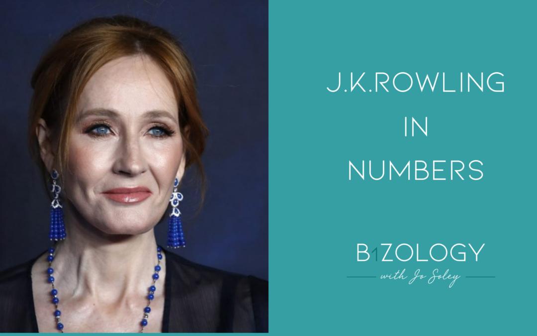 J K Rowling In Numbers