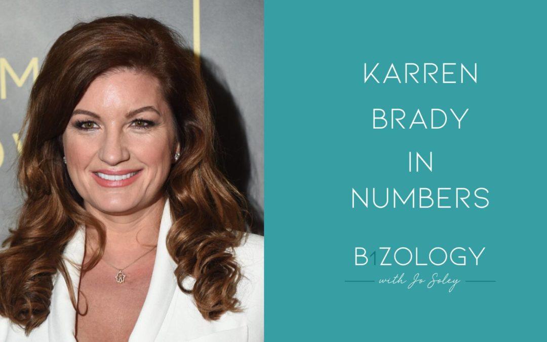 Karren Brady In Numbers
