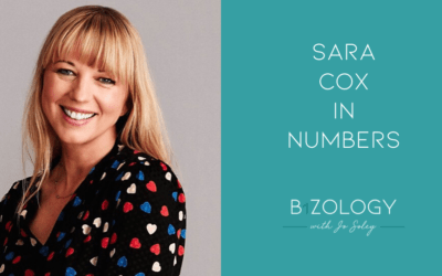 Sara Cox In Numbers