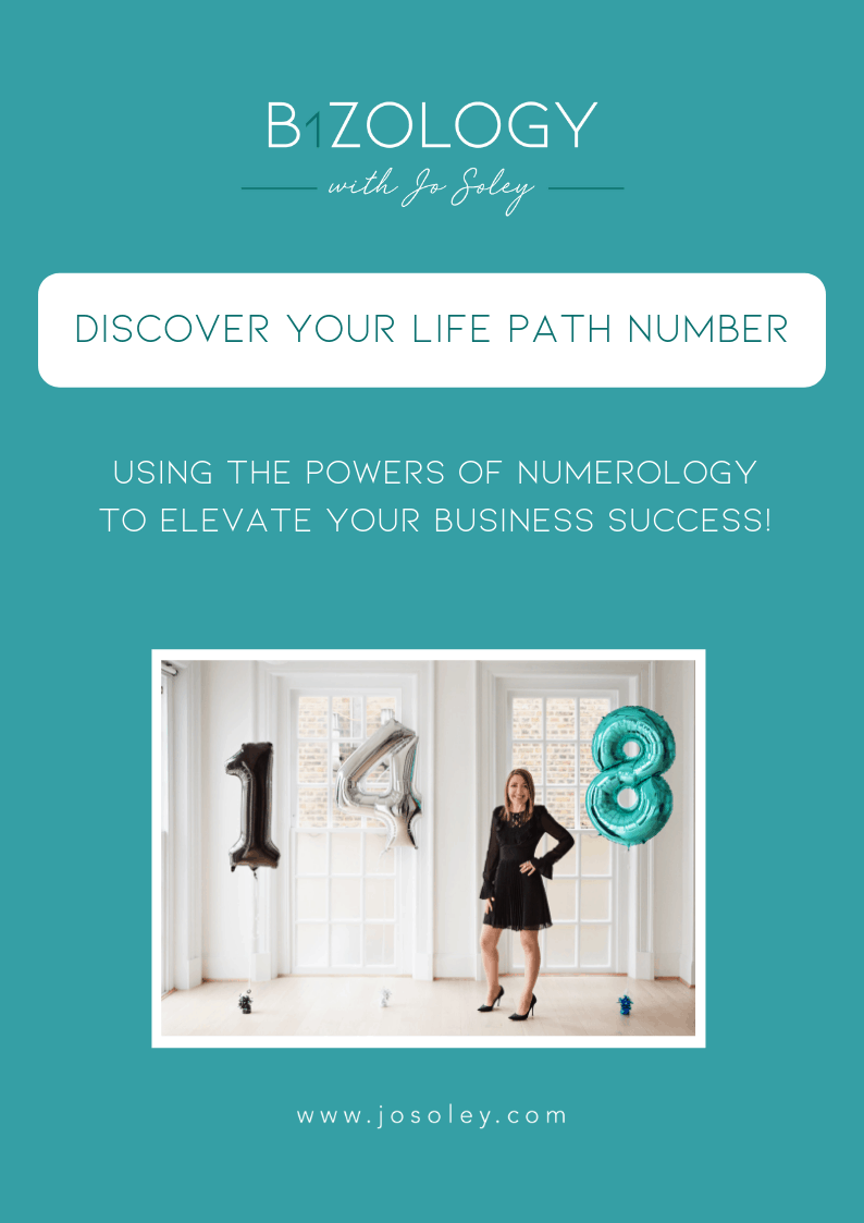 Home - Bizology with Jo Soley Using Powers of Numerology in