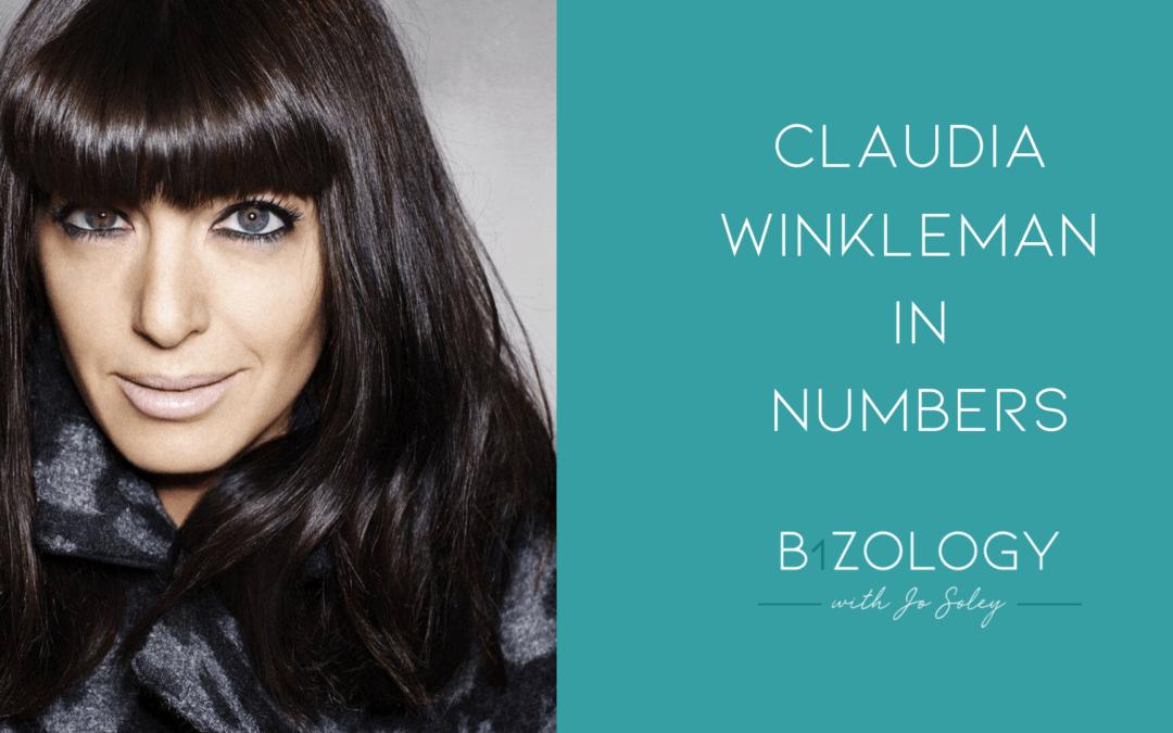 Claudia Winkleman In Numbers