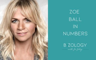 Zoe Ball In Numbers