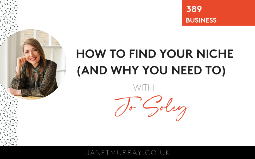 How To Find Your Niche (And Why You Need To).