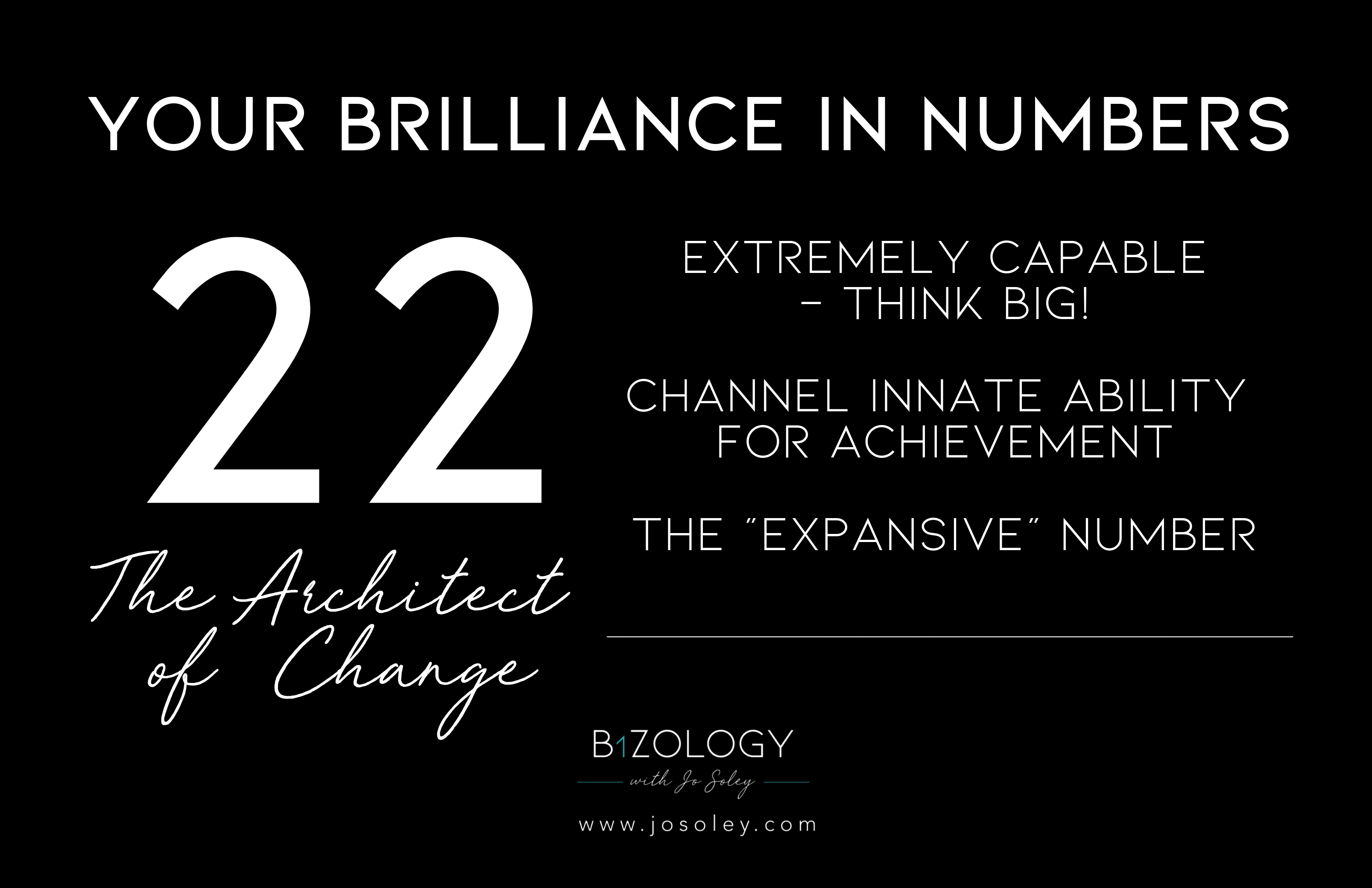 Numerology 22 meaning