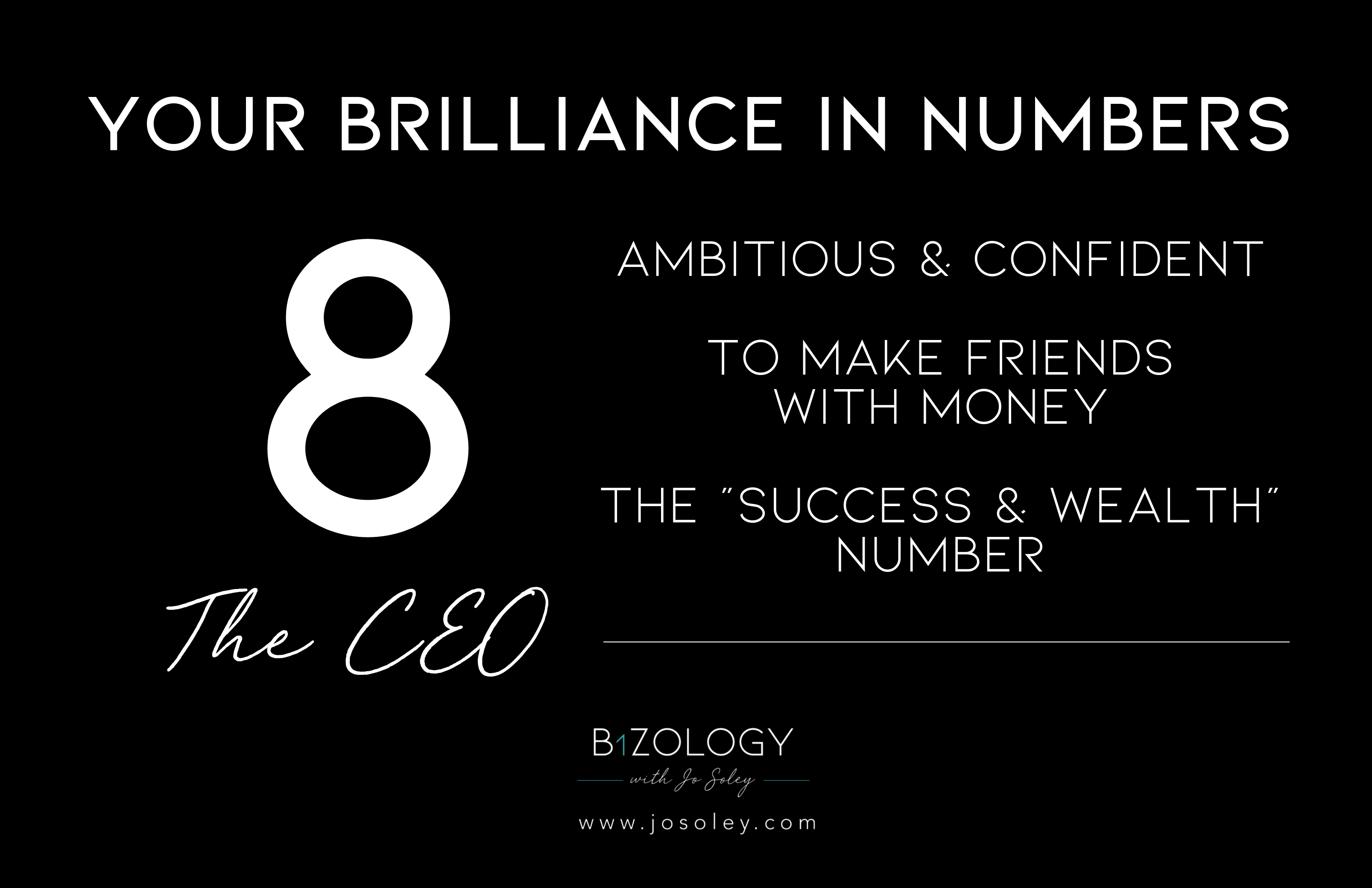 Numerology 8 meaning