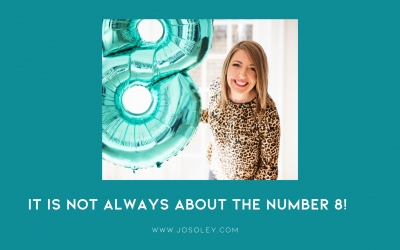 It is not always about the number 8!