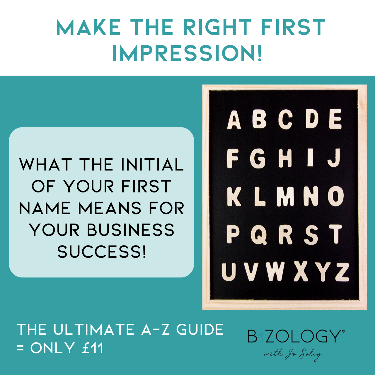 MAKE THE RIGHT FIRST IMPRESSION